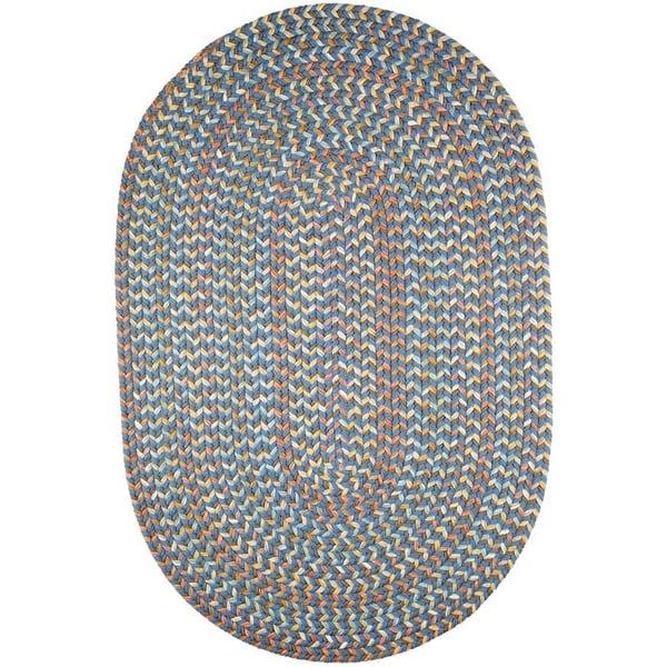 Marina Blue (CU-97) Country Area-Rugs