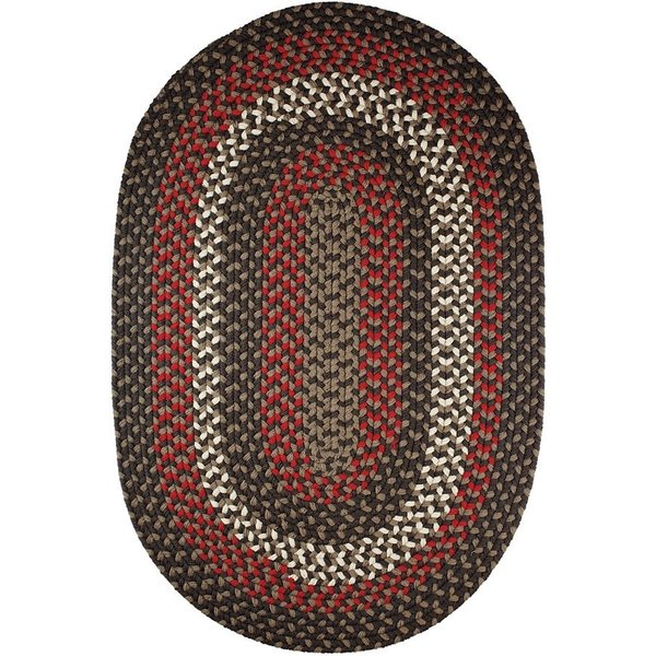Brown Velvet (MA-36) Country Area Rug