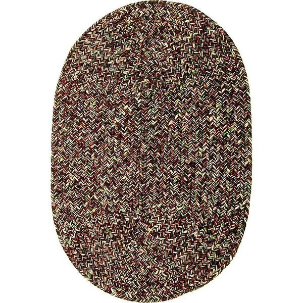 Brown (03) Country Area Rug