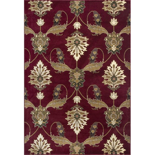 Red (7364) Traditional / Oriental Area-Rugs