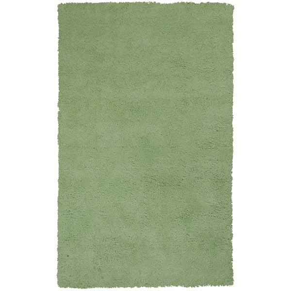 Spearmint Green (1578) Shag Area-Rugs