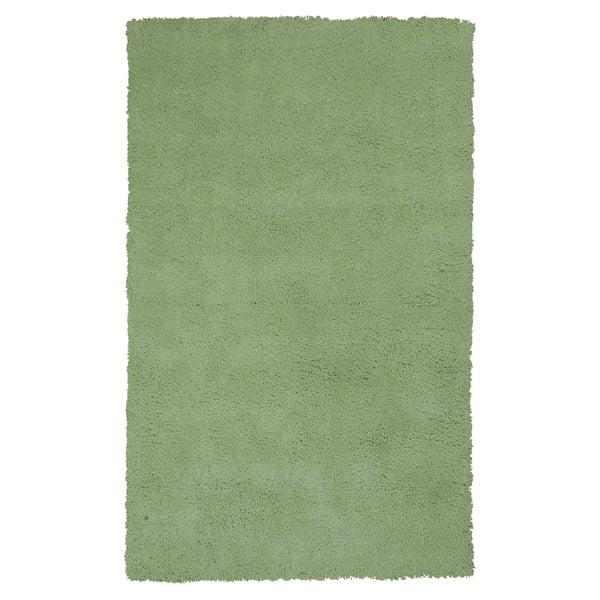 Spearmint Green (1578) Shag Area Rug