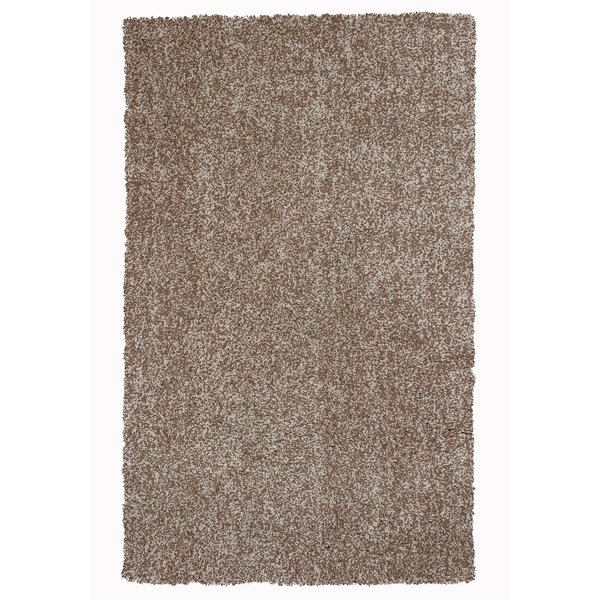 Beige Heather (1581) Shag Area Rug