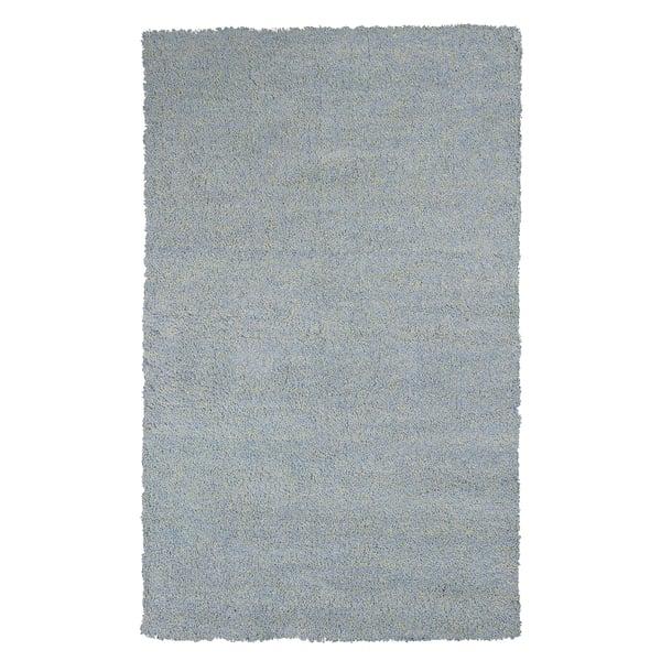 Blue Heather (1582) Shag Area Rug