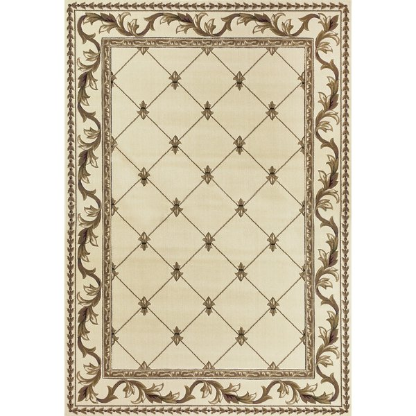 Ivory (5318) Traditional / Oriental Area Rug