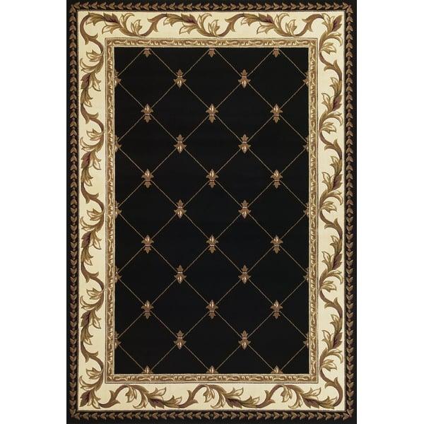 Black (5321) Traditional / Oriental Area Rug