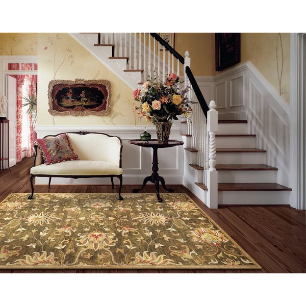 Emerald Green (6010) Traditional / Oriental Area-Rugs