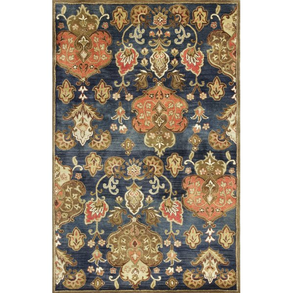 Navy (6020) Traditional / Oriental Area Rug