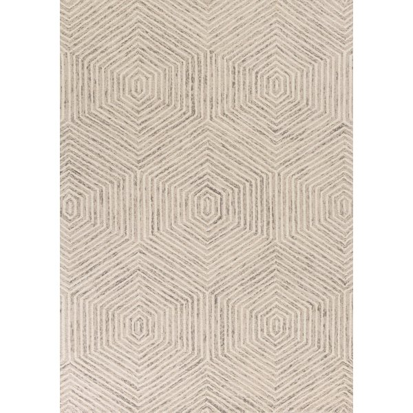 Ivory (1607) Contemporary / Modern Area Rug