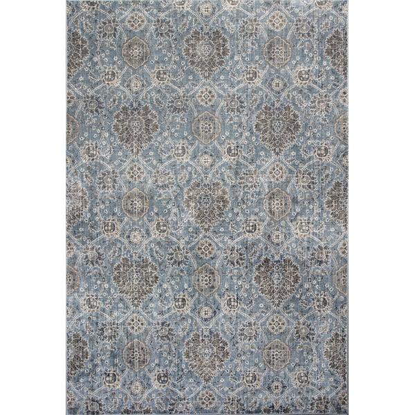 Slate Blue (8607) Traditional / Oriental Area Rug