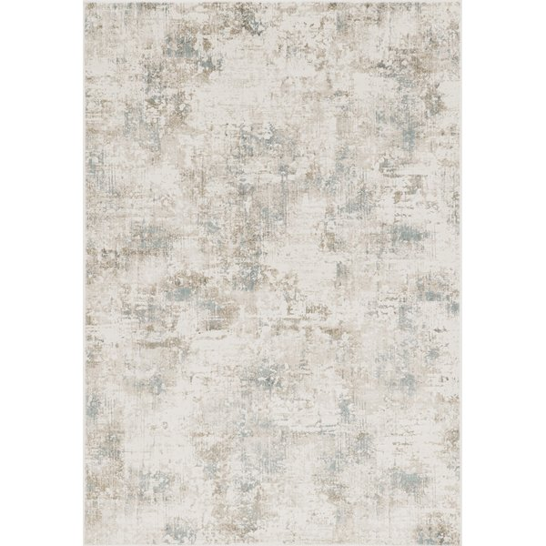Ivory, Grey (6516) Contemporary / Modern Area Rug