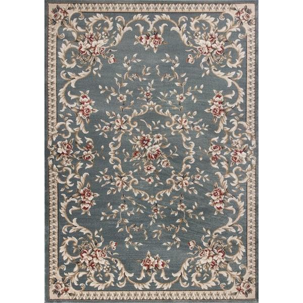 Slate Blue (5602) Traditional / Oriental Area-Rugs