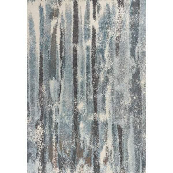 Teal (6211) Abstract Area Rug