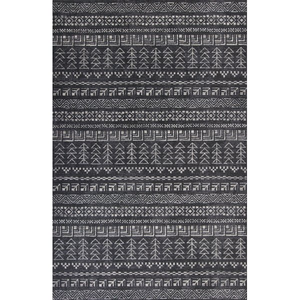 Charcoal (7610) Moroccan Area Rug