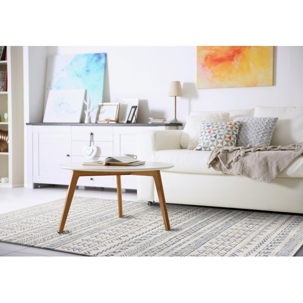 Ivory (7611) Moroccan Area Rug