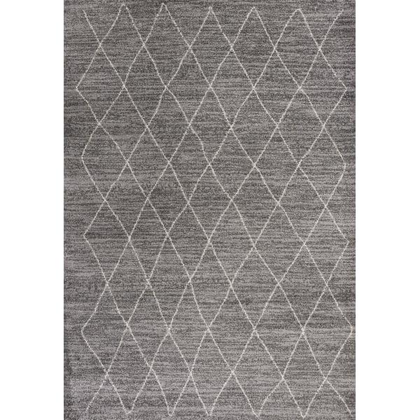 Grey (5903) Moroccan Area Rug