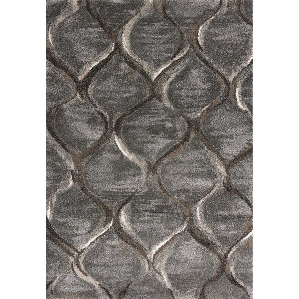 Charcoal (5906) Contemporary / Modern Area Rug