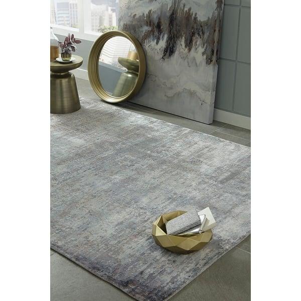 Slate (0801) Abstract Area Rug