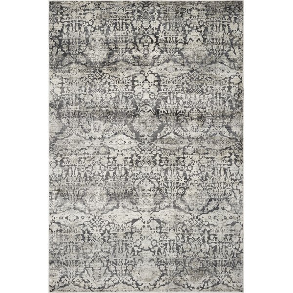 Grey (4756) Vintage / Overdyed Area Rug