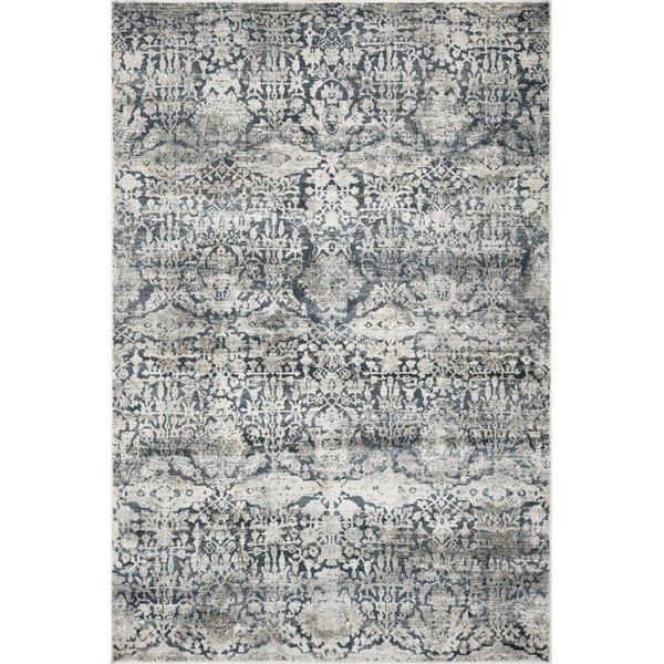 Teal (4757) Vintage / Overdyed Area Rug