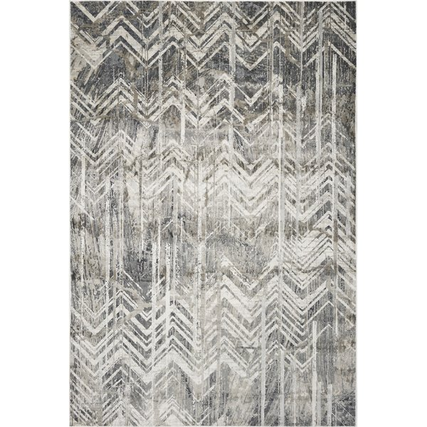 Grey (4758) Vintage / Overdyed Area Rug