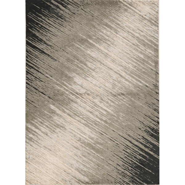 Silver, Grey (7127) Contemporary / Modern Area Rug