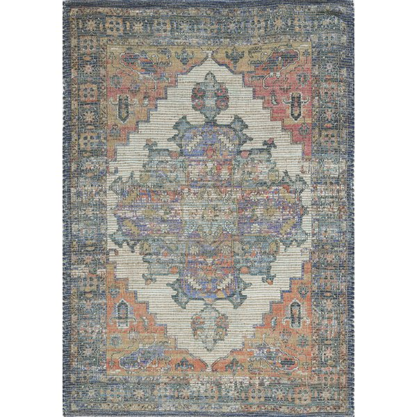 Blue, Tan, Red (2228) Traditional / Oriental Area-Rugs
