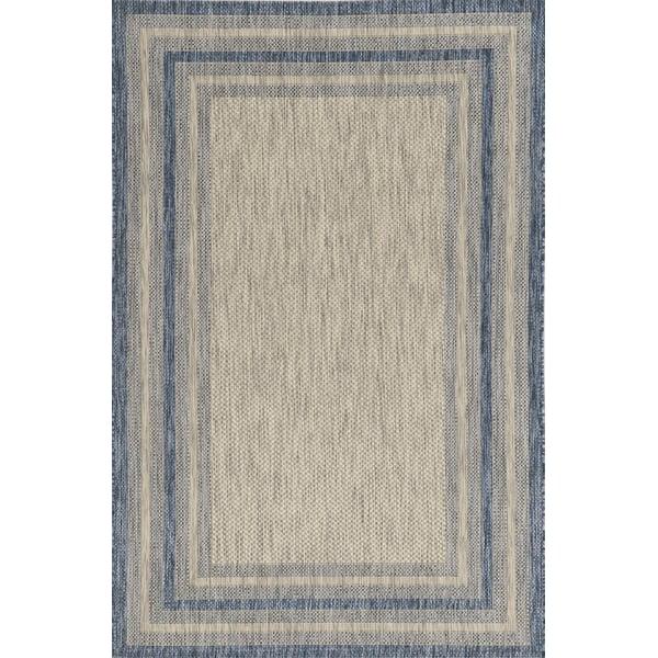 Grey, Denim (5756) Contemporary / Modern Area Rug