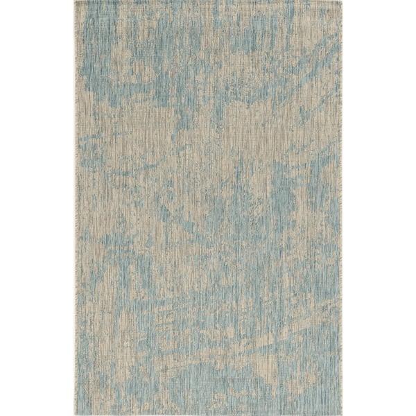 Teal (5759) Contemporary / Modern Area Rug