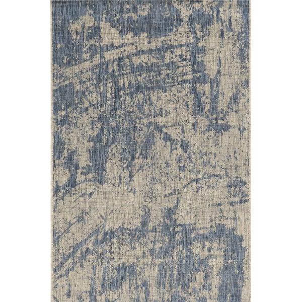 Grey, Denim (5760) Contemporary / Modern Area Rug