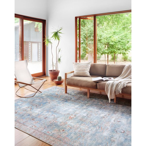 Teal Vintage / Overdyed Area-Rugs