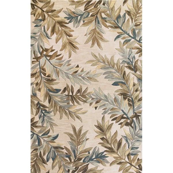 Ivory (3126) Floral / Botanical Area-Rugs