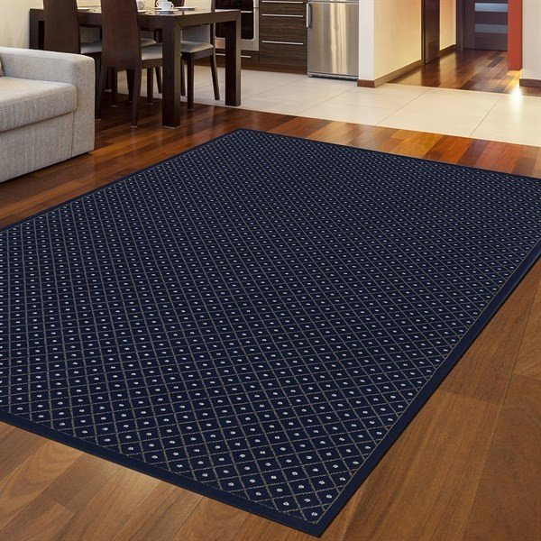 Navy Solid Area Rug