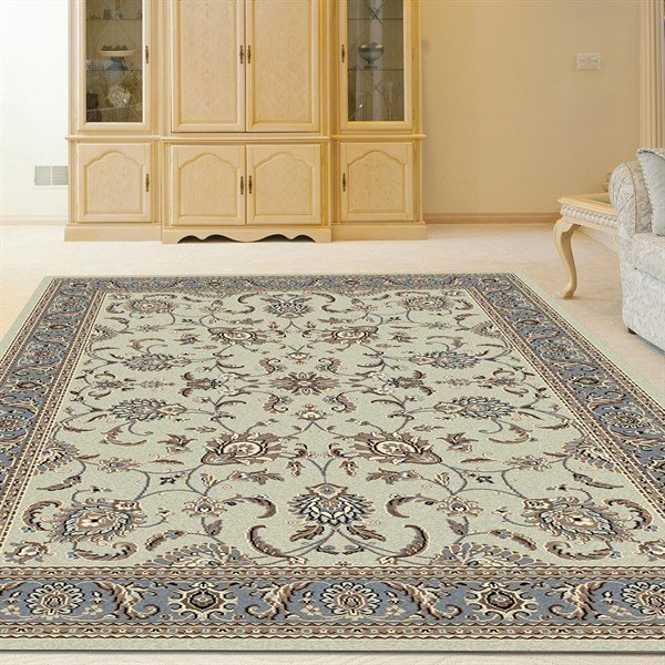 Soft Mint Traditional / Oriental Area Rug