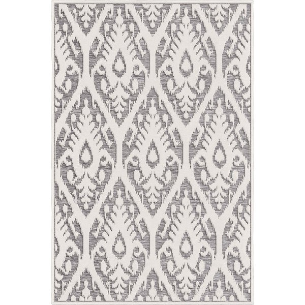 Natural, Grey Traditional / Oriental Area Rug