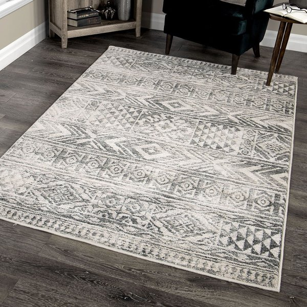 Beige, Taupe (9011) Moroccan Area Rug