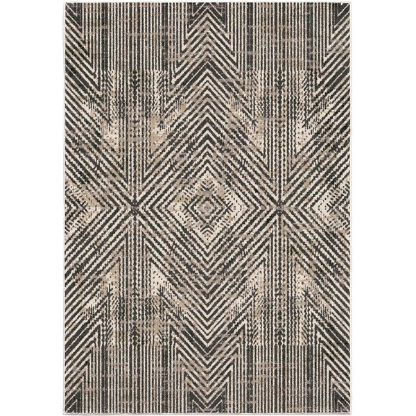 Beige, Brown (9021) Contemporary / Modern Area-Rugs