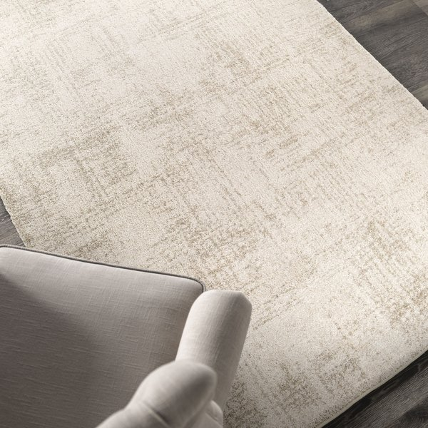 Off White, Beige (9201) Contemporary / Modern Area Rug