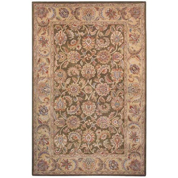 Olive, Camel (M) Traditional / Oriental Area-Rugs