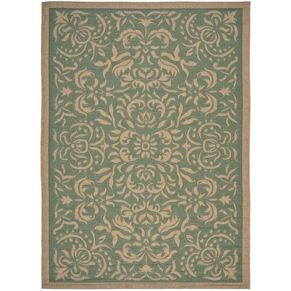 Green, Natural (44) Traditional / Oriental Area-Rugs