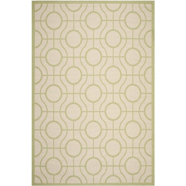 Beige, Sweet Pea (218) Contemporary / Modern Area Rug