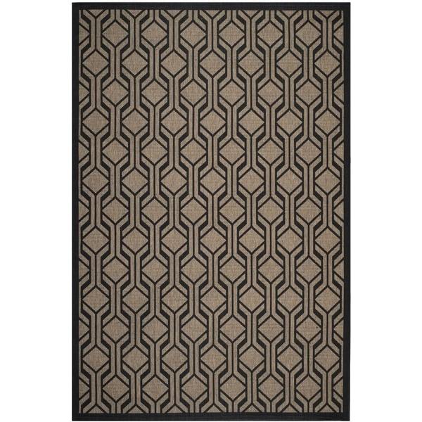 Brown, Black (81) Contemporary / Modern Area Rug