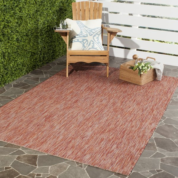 Red (36522) Contemporary / Modern Area-Rugs