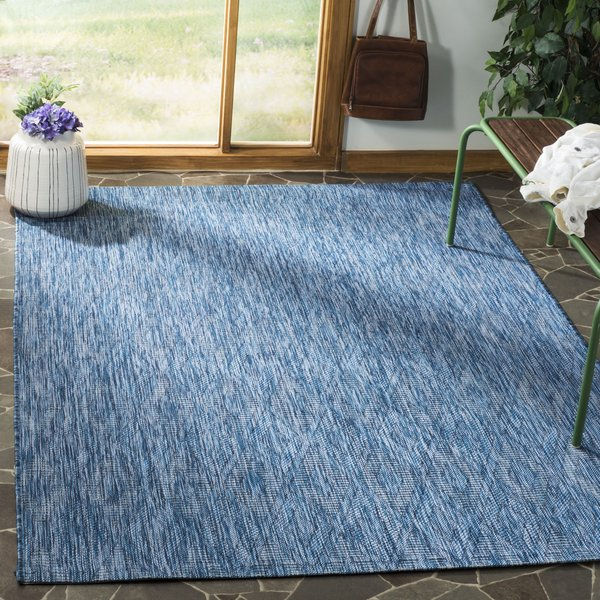 Navy (36822) Contemporary / Modern Area-Rugs