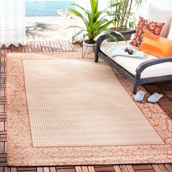 Natural, Terra Cotta (3201) Country Area-Rugs