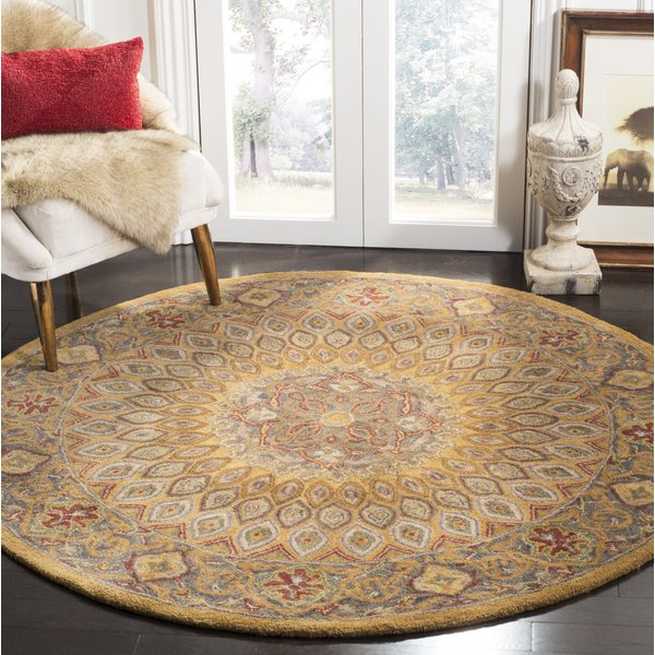 Light Brown, Grey (A) Traditional / Oriental Area Rug