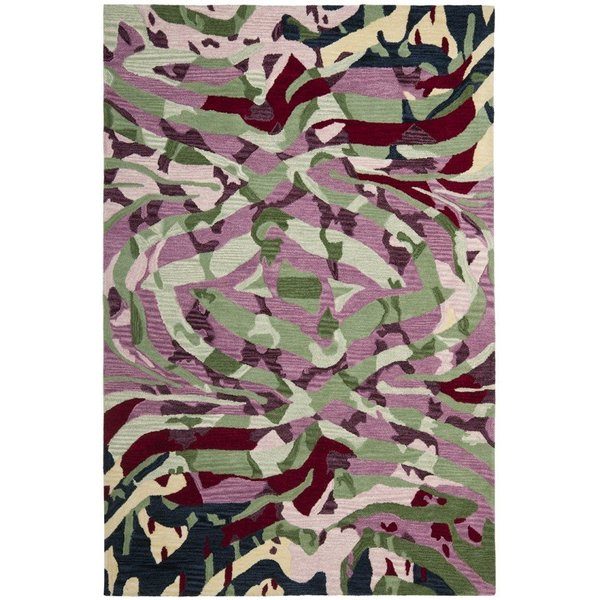 Rose (A) Contemporary / Modern Area Rug