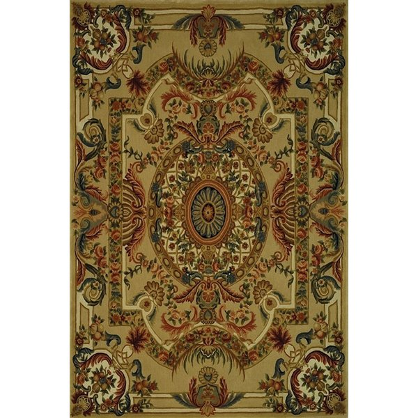 Sage, Beige (A) Traditional / Oriental Area Rug