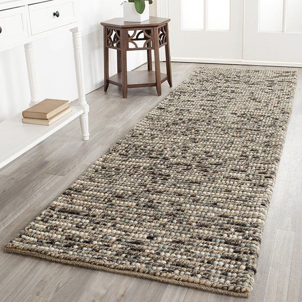 Blue (A) Natural Fiber Area Rug