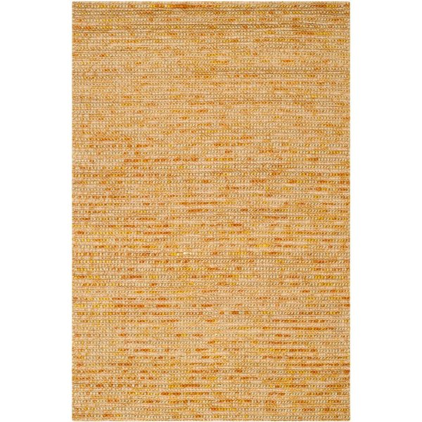 Gold (D) Natural Fiber Area Rug